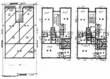 在札幌市东区购买楼房(整栋) 公寓的 楼层布局