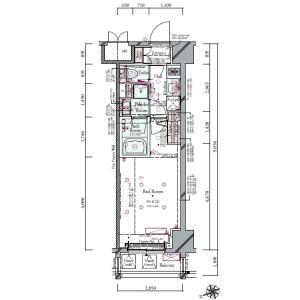 1K {building type} in Shimbashi - Minato-ku Floorplan