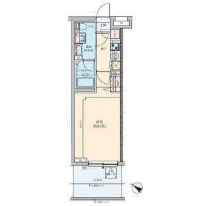 1K Mansion in Shimomaruko - Ota-ku Floorplan