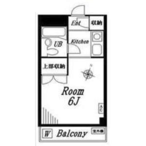 1K {building type} in Nishihara - Shibuya-ku Floorplan