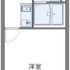 在名古屋市瑞穂區內租賃1K 公寓 的房產 房間格局