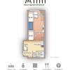 在大阪市浪速區內租賃1R 服務式公寓 的房產 房間格局