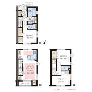3LDK House in Shimomeguro - Meguro-ku Floorplan