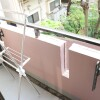 1K Apartment to Rent in Minato-ku Balcony / Veranda