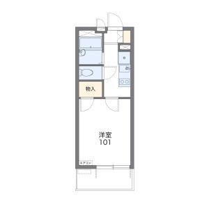 1K Mansion in Uenosonocho - Kagoshima-shi Floorplan