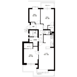 2SLDK {building type} in Minamicho - Kokubunji-shi Floorplan