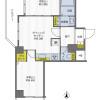 2DK Apartment to Buy in Kyoto-shi Nakagyo-ku Floorplan