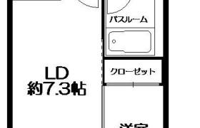 1LDK Apartment in Tsumashoji - Fukuoka-shi Hakata-ku