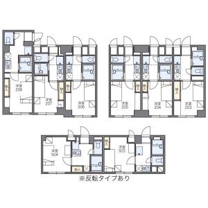 1K Apartment in Udagawacho - Shibuya-ku Floorplan