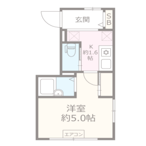 1R Apartment in Higashishinagawa - Shinagawa-ku Floorplan