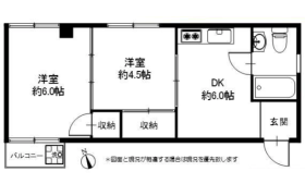 2DK Apartment in Koenjiminami - Suginami-ku