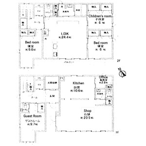 札幌市東区 本町二条 4LDK {building type} 間取り