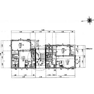 Whole Building {building type} in Shinimazato - Osaka-shi Ikuno-ku Floorplan
