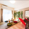 2LDK マンション 新宿区 リビングルーム
