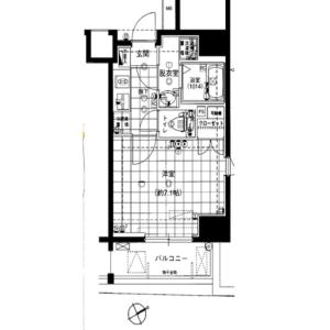 1K {building type} in Higashi - Shibuya-ku Floorplan