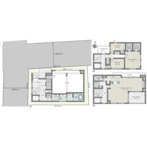 3LDK {building type} in Yakumo - Meguro-ku Floorplan