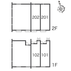 1K Apartment in Okusawa - Setagaya-ku Floorplan