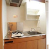 1K Apartment to Rent in Ota-ku Kitchen