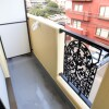 1K Apartment to Rent in Yokohama-shi Aoba-ku Balcony / Veranda