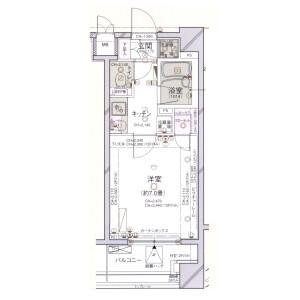 文京區本郷-1K公寓大廈 房間格局