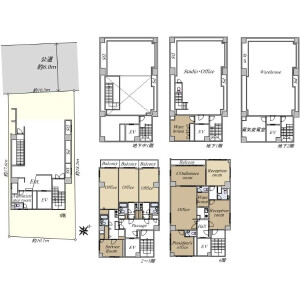 Office {building type} in Tsukiji - Chuo-ku Floorplan