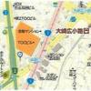 3DK Apartment to Buy in Shinagawa-ku Map