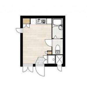 1R Mansion in Haramachi - Meguro-ku Floorplan