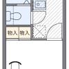 1K Apartment to Rent in Nagoya-shi Minami-ku Floorplan