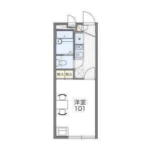 1K Apartment in Yayoicho - Nagoya-shi Minami-ku Floorplan