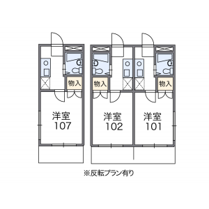 1K Mansion in Haramachi - Shinjuku-ku Floorplan