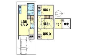 京都市南区 西九条川原城町 3LDK {building type}