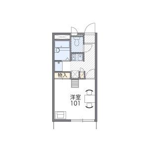 1K Apartment in Mirokuji - Fujisawa-shi Floorplan