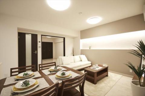 3LDK Apartment to Buy in Yokohama-shi Kohoku-ku Interior
