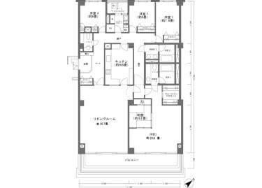 5LDK Apartment to Buy in Atami-shi Floorplan