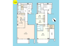3SLDK {building type} in Mita - Meguro-ku