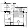 2K Apartment to Rent in Ibi-gun Ikeda-cho Floorplan