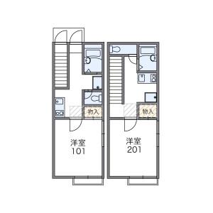 1K Apartment in Nishikamata - Ota-ku Floorplan