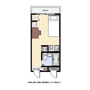 1R Mansion in Hongo - Bunkyo-ku Floorplan