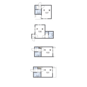 1R Apartment in Sumida - Sumida-ku Floorplan