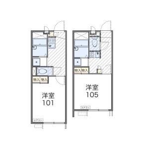 1K Apartment in Maebara higashi - Funabashi-shi Floorplan
