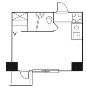 1R Mansion in Takadanobaba - Shinjuku-ku Floorplan