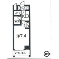 1K Mansion in Honjo - Sumida-ku Floorplan