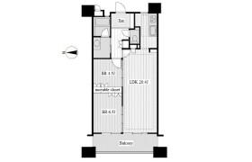 2LDK Apartment in Marunouchi - Nagoya-shi Naka-ku