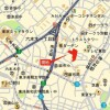 2LDK Apartment to Rent in Minato-ku Access Map