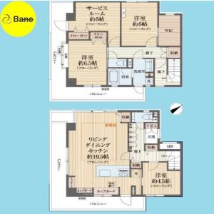 3SLDK {building type} in Toyotamakita - Nerima-ku Floorplan