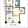 2LDK マンション 名古屋市中区 内装