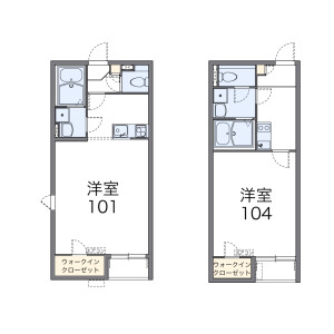 1K Apartment in Hikawadai - Nerima-ku Floorplan