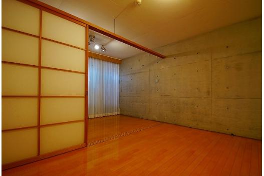 在Minato-ku内租赁1DK 大厦式公寓 的 起居室