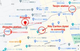 福岡市中央区大名-3DK{building type}