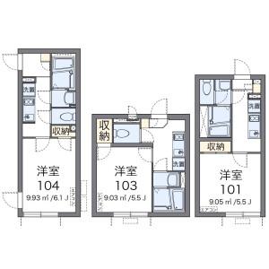 1K Mansion in Chitosedai - Setagaya-ku Floorplan